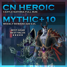 Castle Nathria Heroic & Mythic+10 – Discounted Bundle