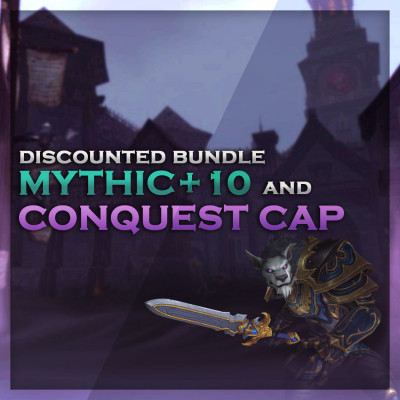 Buy M+10 & Conquest Cap Bundle | WoW Boosts Cheaper Together