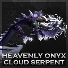 Buy Heavenly Onyx Cloud Serpent Flying Mount WoW Boost | A for ARMADA