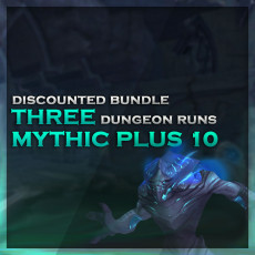 3 Mythic+10 Boosts – Discounted Bundle